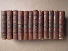 HISTOIRE ROMAINE jusqu'à la prise de Constantinople. 1802. 12 volumes complet.