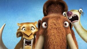 Ice Age Collision Course Movie Poster Print T428 |A4 A3 A2 A1 A0|