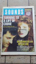 Sounds 1989/03/25 (Crime And The City Solution)