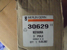 Merlin Gerin 30629 Switch Disconnector Compact NS160NA 160a 3P *New and Boxed*