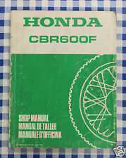 BB 67MN430 Manual De Taller Honda CBR600F estampado 1987