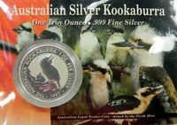 1997 KOOKABURRA Silver Coin on Card