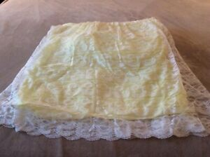 Vintage Lace Bassinet Skirt/Cover/Liner