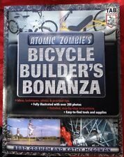 Signed! Atomic Zombie's Bicycle Builder's Bonanza Book~Create Cool Bikes
