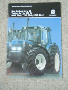 @ Ford 40 Series Tractor Brochure(In Italian)@