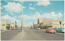 Intersection of 3 Highways in Deming NM Postcard