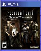 PLAYSTATION 4 PS4 GAME RESIDENT EVIL ORIGINS COLLECTION BRAND NEW AND SEALED