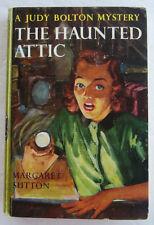 Judy Bolton #2 The HAUNTED ATTIC Margaret Sutton Green PC
