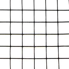2 X 50 Welded Wire 19ga Deer Rabbit Fencing Black Pvc Coated 1x1 Mesh