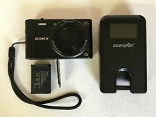 SONY Cyber-shot DSC-WX350 Digital Camera - includes battery & battery charger