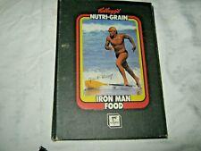 A Rare Olympic Stationery Kellogg's Nutri Grain Iron Man Food Ring Bind Folder