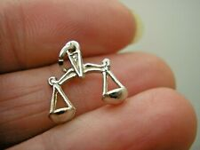 Libra Scales Charm Vintage Sterling Silver