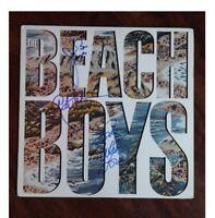 GFA The Beach Boys * MIKE LOVE, BRUCE & AL JARDINE * Signed Record Album AD9 COA