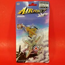 New - Air Force Realistic Die-Cast Metal and Plastic Airplanes Authentic Details