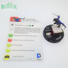 Heroclix DC 10th Anniversary set Nightwing #007 Common figure w/card!