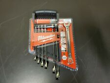 Milwaukee 48-22-9507 7-Piece Metric Open-End Combination Wrench Set - NEW