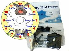 New CD Clock Kit , Sheep, Learn how to tell the time, Dial has Numbers and Words