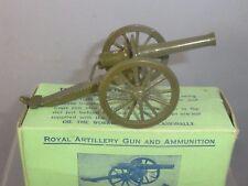 VINTAGE BRITAINS MODEL No.1263      ROYAL ARTILLERY GUN  ( SHELL FIRING )   MIB