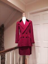 Ralph Lauren Fuchsia Double Breasted Skirt Suit Size 8 / 6