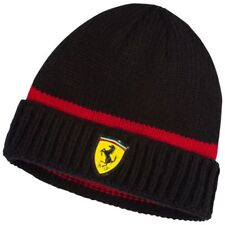 Puma Ferrari black/Red Beanie Official Product : 063786178 Authentic NEW