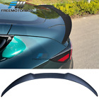 Fits 17-22 Tesla Model 3 IKON Style Rear Trunk Spoiler Tail Wing ABS Matte Black