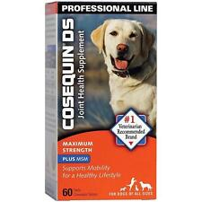 NUTRAMAX COSEQUIN DS MAX STRENGTH PLUS MSM SUPPLEMENT FOR DOGS 60 TABLETS 2019