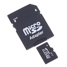 2PC Micro SD TransFlash TF to SD SDHC Memory Card Adapter SD Card Converter Good