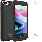 iPhone 8 7 Plus Battery Case Charger Cover with Qi Wireless Charging Alpatronix
