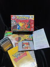 Pokemon Stadium for Nintendo 64 with original box and manual