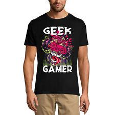 ULTRABASIC Homme T-shirt Geek Gamer - T-shirt Graphique - Cadeau pour Gamers