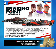 F1 2021 Braking Point Content Pack DLC Pack (No Game) for Xbox One / Series X