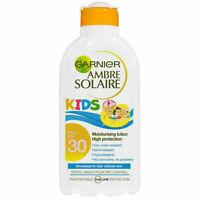 Garnier Ambre Solaire Kids Sun Tan Lotion  High Protection Spf 30