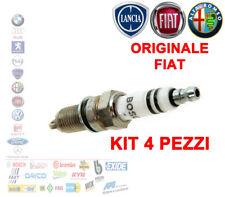 4X CANDELA ORIGINALE FIAT BRAVO 198 ALFA MITO ABARTH 500 DELTA MOT 1.4 55249868
