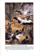 La battaglia dei pigmei e le cicogne, da Arthur twidle