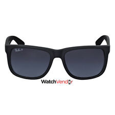 Ray-Ban Justin Classic Polarized Grey Gradient Sunglasses RB4165 622/T3 55