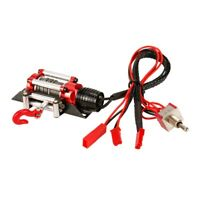 RC Car Metal Steel Wired Automatic Simulated Winch for 1/10 RC Crawler Car C2T9