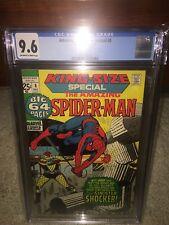 Amazing Spider-Man Annual #8 CGC 9.6 1971 King Size! New Case! NM+ H3 114 1 cm