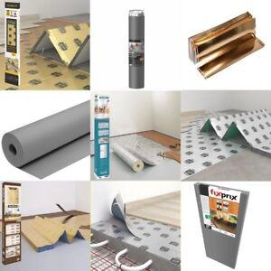 Profi Trittschalldämmung für alle Böden Laminat Vinyl Parkett Fußbodenheizung