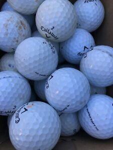 40 Callaway Supersoft Super Soft White Golf Balls B Grade.