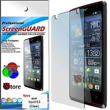 5 Pellicola Per Acer Liquid E3 / Liquid E3 Duo E380 Proteggi Salva Schermo LCD