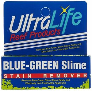 Ultralife blue green algae slime stain remover for aquarium treats 125 gallons