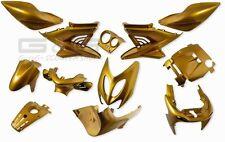 accessoire de déguisement Kit 12 parties carénage or pour yamaha aerox mbk nitro