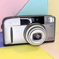 Canon Sure Shot Z115 Compact Film Camera 38-115 Zoom Lens! No Flash Function,