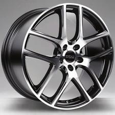 Honda 17 Zoll OX1 Race Alufelgen 7x17 5x114,3 ET40 schwarz glänzend winterfest