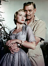 PHOTO MOGAMBO - CLARK GABLE & GRACE KELLY (P2) FORMAT 20X27 CM