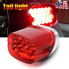 LED Rear Tail Brake Running License Plate Light Lamp For Harley Davidson Touring