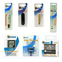 Superfish AQUARIUM THERMOMETER Accurate Reliable Mini Hang On Glass Digital LCD