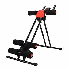 Power Plank Abdominal Coaster Red 5 minutes Shaper trainer Ab Cruncher NEW