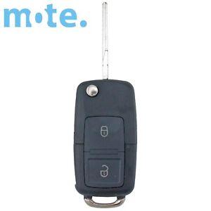 To Suit Volkswagen VW Passat Jetta 2 Button Remote Key Flip Shell/Case/Enclosure