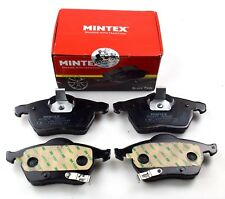 MINTEX FRONT AXLE BRAKE PADS FOR OPEL SAAB VAUXHALL MDB2317 (REAL IMAGE OF PART)